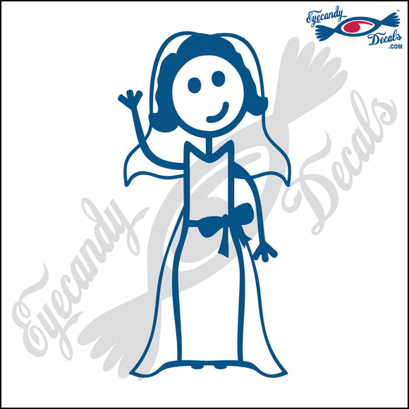 STICK FAMILY LADY BRIDE   5