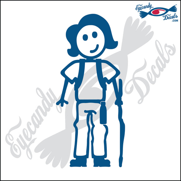 STICK FAMILY LADY HIKER   5