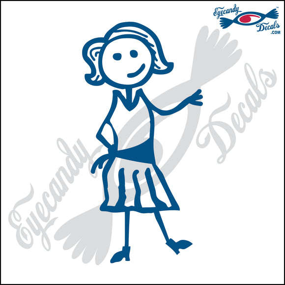 STICK FAMILY LADY CLOGGER   5
