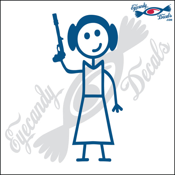 STICK FAMILY LADY STAR WARS PRINCESS LEIA 1   5