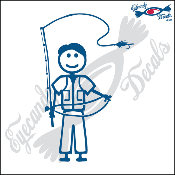 STICK FAMILY MAN FLY FISHING   5