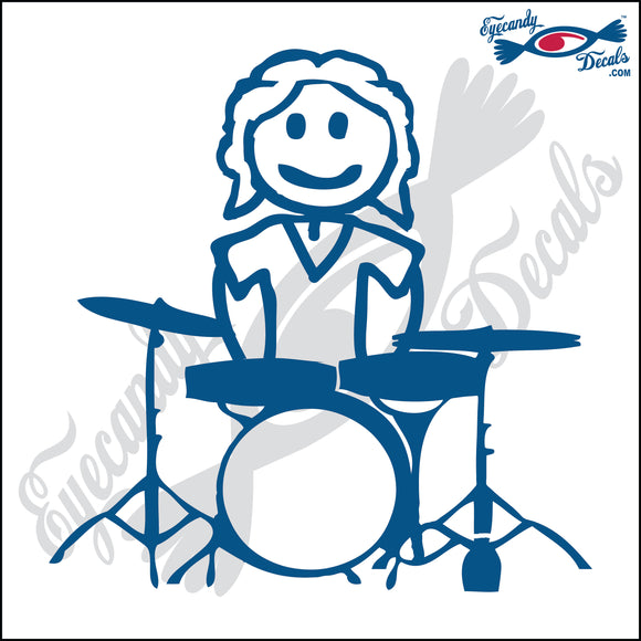 STICK FAMILY MAN PLAYING THE DRUMS   5