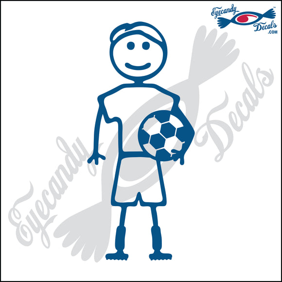 STICK FAMILY MAN SOCCER PLAYER   5