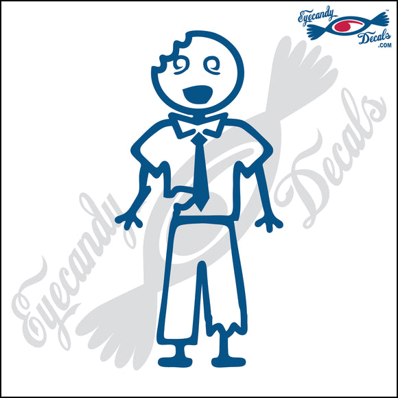 STICK FAMILY MAN ZOMBIE   5