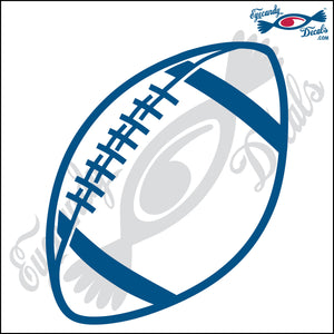 "FOOTBALL 6"" DECAL"