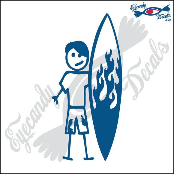 STICK FAMILY TEEN BOY SURFER   4.5