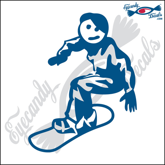 STICK FAMILY TEEN BOY SNOWBOARDING   4.5