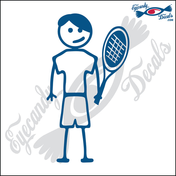 STICK FAMILY TEEN BOY TENNIS PLAYER   4.5