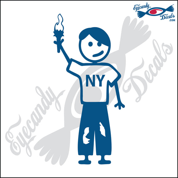 STICK FAMILY TEEN BOY IN NEW YORK   4.5