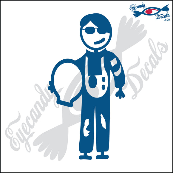 STICK FAMILY TEEN BOY ASTRONAUT   4.5