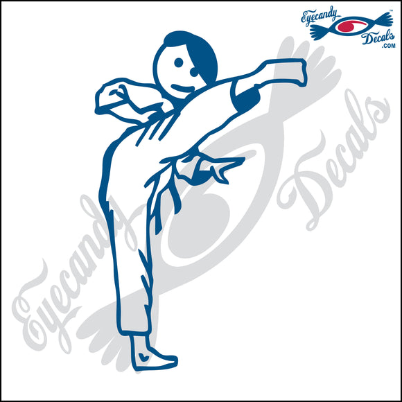 STICK FAMILY TEEN BOY KARATE KICKING   4.5
