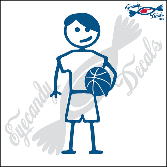 STICK FAMILY TEEN BOY HOLDING BASKETBALL   4.5