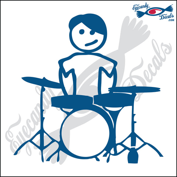 STICK FAMILY TEEN BOY DRUMMER   4.5