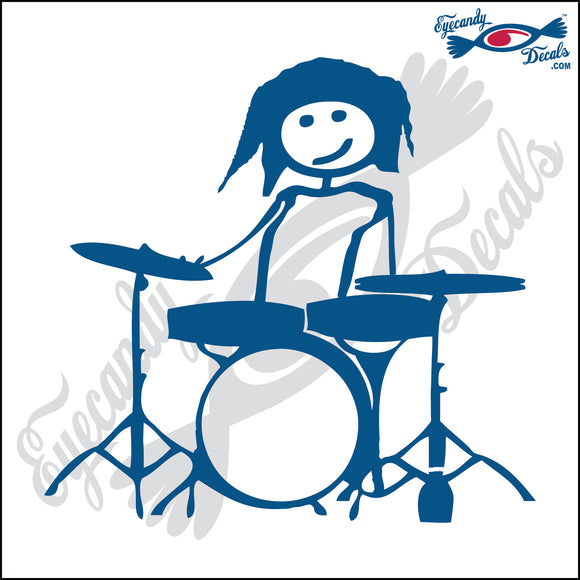 STICK FAMILY TEEN GIRL DRUMMER   4.5