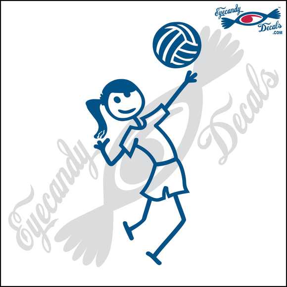 STICK FAMILY TEEN GIRL PLAYING VOLLEYBALL - HITTER   4.5