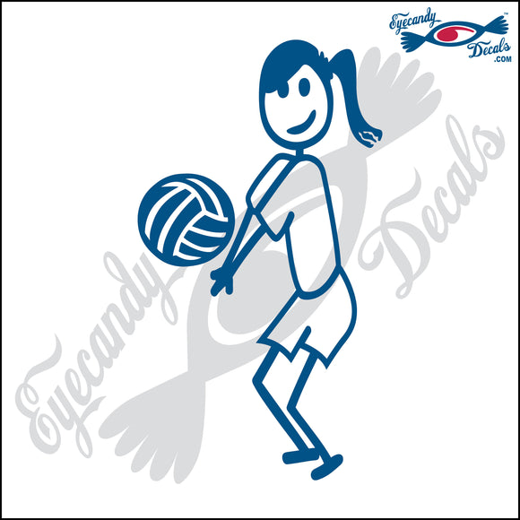 STICK FAMILY TEEN GIRL PLAYING VOLLEYBALL - LIBERO   4.5