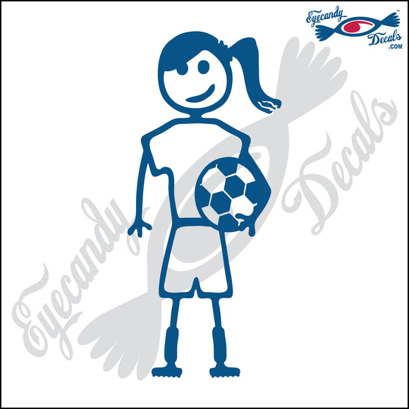 STICK FAMILY TEEN GIRL SOCCER PLAYER   4.5