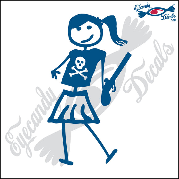 STICK FAMILY TEEN GIRL PIRATE   4.5