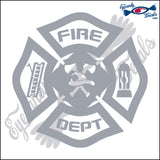 "FIRE FIGHTER EMBLEM 5""  DECAL"