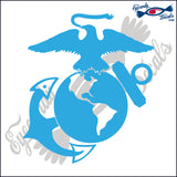 "MARINES LOGO 5""  DECAL"