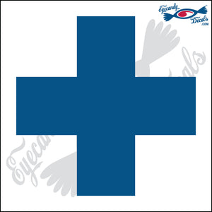 "RED CROSS LOGO 5"" DECAL"