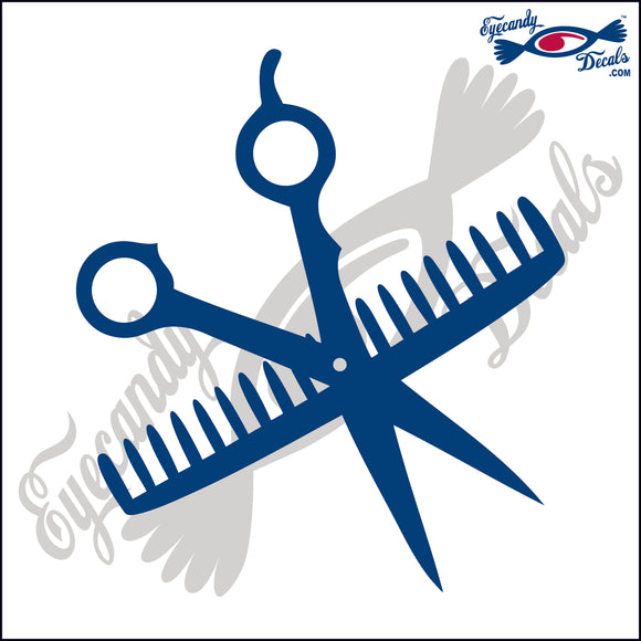 SCISSORS AND COMB 6