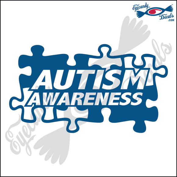 AUTISM AWARENESS SINGLE COLOR 6