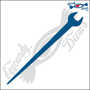 "SPUD WRENCH 6"" DECAL"