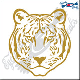 "TIGER HEAD WITH NO OUTLINE 6"" DECAL"
