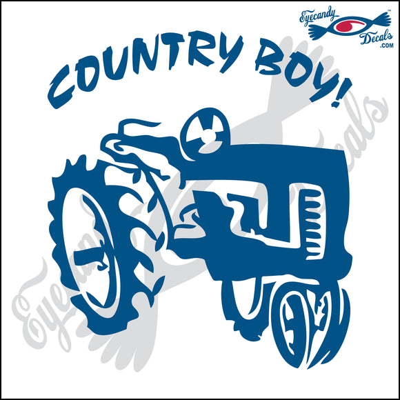 TRACTOR COUNTRY BOY 6