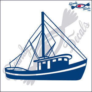 "SHRIMP BOAT  6""  DECAL"