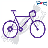 "BICYCLE 6"" DECAL"