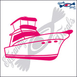 "FISHING BOAT  6""  DECAL"