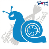 TURBO SNAIL 6  INCH  DECAL