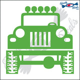 "JEEP 5"" DECAL"