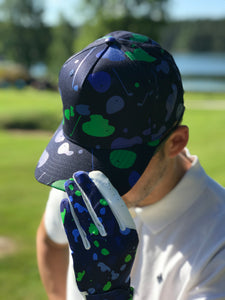 The Glove Blue Camo