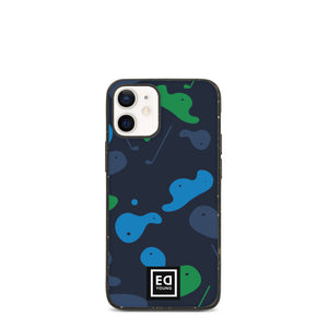 Biodegradable Phone Case Blue Camo