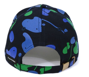 The Golf Camo Cap Blue