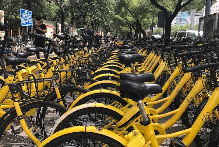 Rent a bike in China with CHINA TOURIST 4G PREPAID SIM