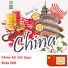4G China 365 Days Data SIM - DIY Plan