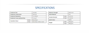 16-2 cable specs