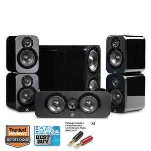 Q Acoustics 3000 5.1 Home Cinema Speaker Package
