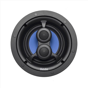 "Blucube BCP65-SS 6.5"" Single Stereo In Ceiling Speaker"