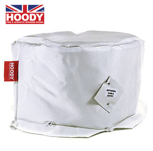 Hoody 2 ceiling speaker fire hood for 8-10""