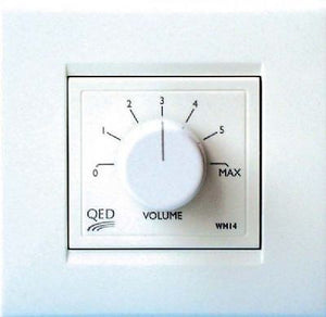 QED WM14 in-wall volume control switch for speakers