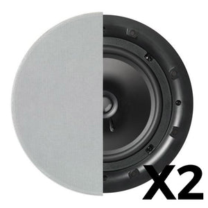 "Q Acoustics QI80C Professional In-Ceiling - 8"" Pair"