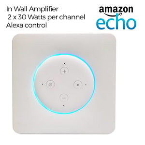 In Wall Amazon Echo Amplifier - Vail Amp 3
