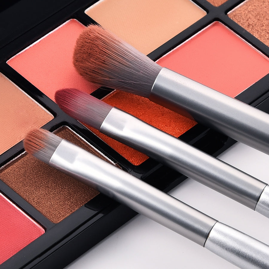Platinum Marble Cosmetic Makup Brush Set Online