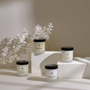 DISCOVERY SET: 4 Essential Oil Candles (120ml x 4)