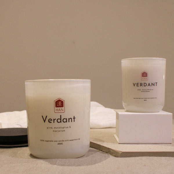 VERDANT: Essential Oil Candle (400g)
